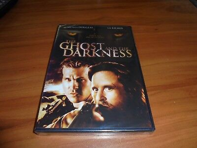 The Ghost and the Darkness (DVD, Widescreen 1998) Val Kilmer,Michael Douglas NEW