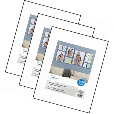 Mainstays 11x17 Format Picture Frame Set Of 3 2452 Picclick