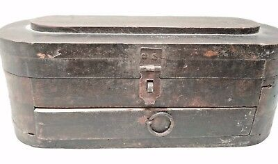 Vintage Small Chest of Drawers Handmade Miniature/ Top Open Drawer Wooden Rack