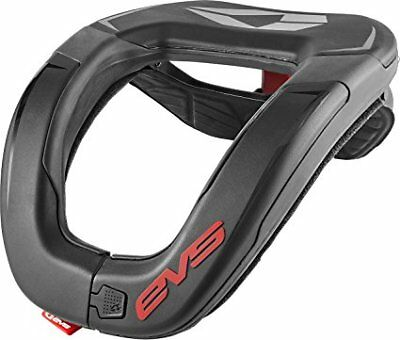 EVS MX Off-Road R4 Race Collar  Neck Support Brace Protector Adult One-Size Blk