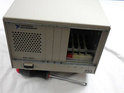 National Instruments PXI-1002 Compact PCI PXI Mainframe Chassis No Modules