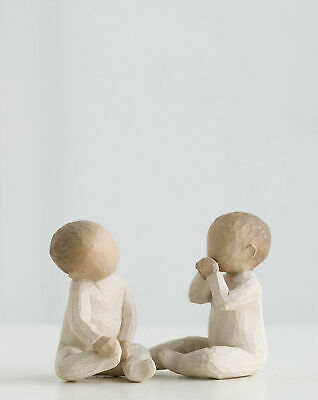 Willow Tree Figurine Two Together 2 Babies Together By Susan Lordi  26188