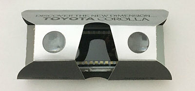 1987 Toyota Corolla Stereo Viewer Promotion Piece