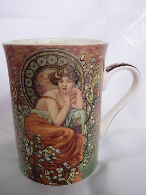 ALFONS MUCHA COFFEE CUP fine bone china  #3