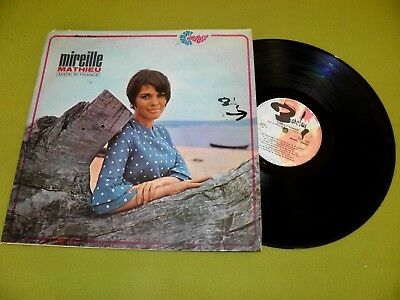 "Mireille Mathieu ""Made In France"" Israel 1st Press 1967 RARE Different Cover LP"