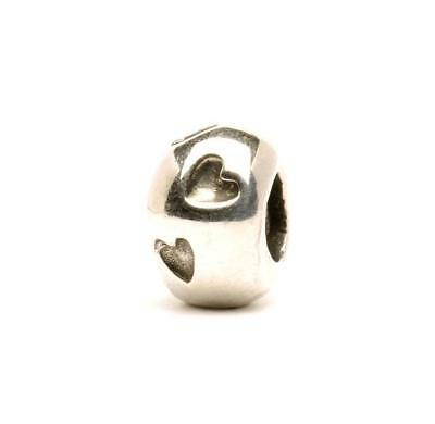 Trollbeads Original Beads In Argento Stampo Del Cuore Tagbe-10050