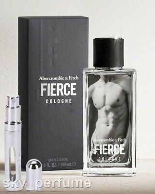 Abercrombie & Fitch FIERCE Cologne BIG Refillable Travel Atomiser 12ml Spray