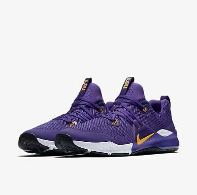 **GEAUX TIGERS!!** Nike Zoom Command LSU Tigers Trainer Men Speed V7