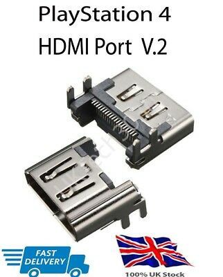 Sony PlayStation 4 PS4 HDMI Port Display Socket Connector V2 Female Replacement