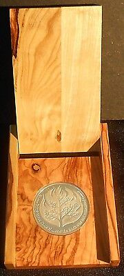1982 The People Israel Lives Bush Was Not Consumed .935 Silver Proof Medal