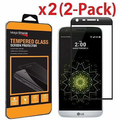 2-Pack MagicShieldz® LG G5 Full Cover 3D Tempered Glass Screen Protector
