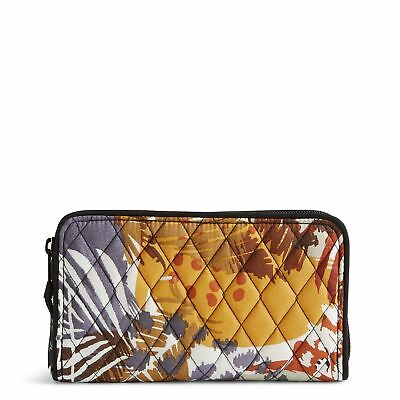Vera Bradley Accordion Wallet in Painted Feathers