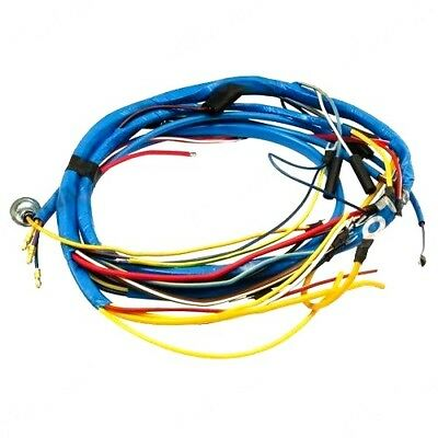 fordson dexta tractor wiring harness loom see wiring diagram ford naa wiring diagram wiring harness fits fordson dexta tractors