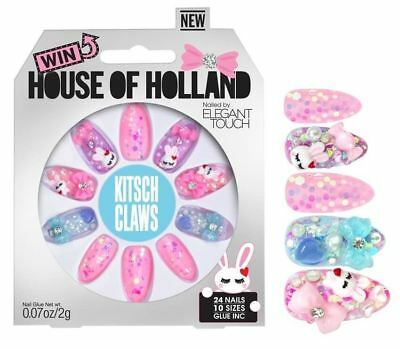House of Holland faux ongles - KITSCH GRIFFES (24 ongles)