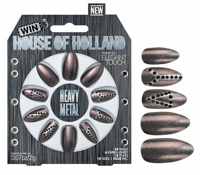 House of Holland faux ongles - métal lourd (24 ongles)