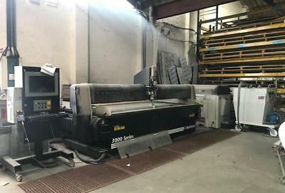 MultiCam 3000 Series CNC Waterjet Cutter - 60000 PSI KMT Pump Only 500 hours use
