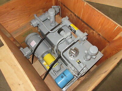 Air Hydraulic Systems - Vickers Marzocchi Lubrication Lube Pump System w Cooling