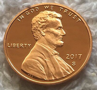 2017-S Proof Gem Bu Lincoln Shield Cent Brillant Uncirculated Wow Look