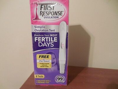FIRST RESPONSE Simple Ovulaion Test ~ 7 Ovulation Tests + 1 Pregnancy Test