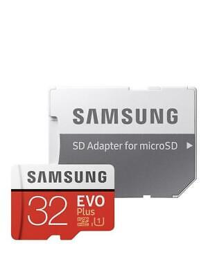 Samsung 32GB Evo Plus Micro SD SDHC Memory Card 95MB/s Class10 + SD Adapt