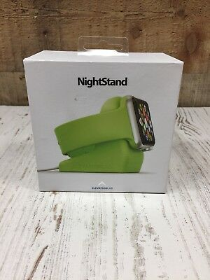NEW Night Stand Apple Watch Elevation Lab Docking Station Charger Holder Green