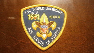 17th World Jamboree - 1991 - Boy Scouts of America - Contingent Patch - Korea