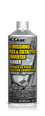 1 x Hi-Gear EZ Emissions Pass & Catalytic Converter Cleaner 444 ML Made in USA