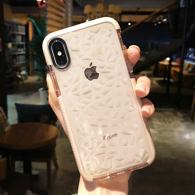 Shockproof Soft Clear Phone Case Soft Bumper Cover for Apple iPhone 6s 7 8 Plus