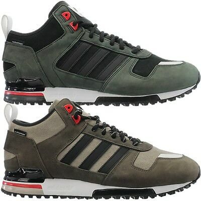 8f75f66280f6 Adidas ZX 700 Winter CP men s mid-top sneakers green black casual trainers  NEW