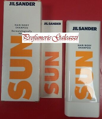 JIL SANDER SUN HAIR/BODY SHAMPOO DERMATOLOGICALLY TESTED - 200 ml