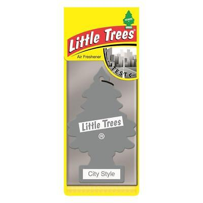 4 x Little Magic Tree Car Air Freshener CITY STYLE Woody/Spice Cologne 2D