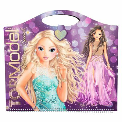 Top Model Colouring Book Glamour Special TopModel