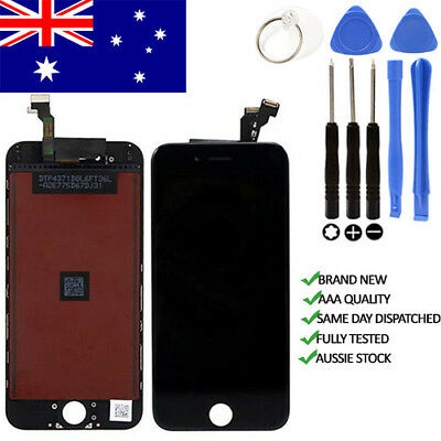 "For iPhone 6 LCD 4.7"" Screen Replacement Digitizer Display Assembly Black  AU"