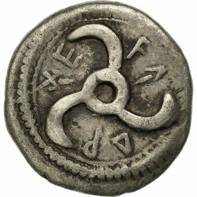 [#509877] Coin, Lycia, Trbbenimi, 1/6 Stater or Diobol, Rare, EF(40-45), Silver