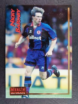 Merlin Premier League 2001-Nick Barmby Liverpool #245