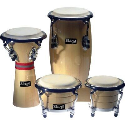 STAGG Mini Latin + African Percussion Set | Neu