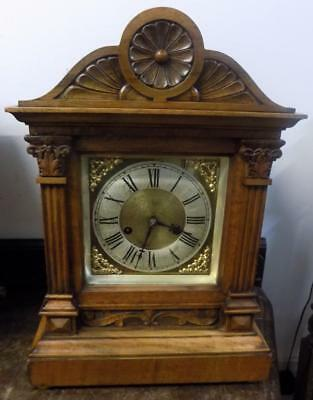 hac walnut cased bracket clock