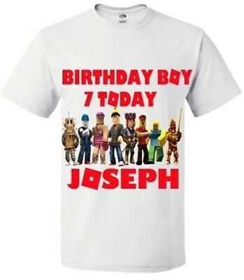 Roblox Birthday T Shirt