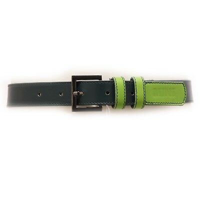 4858V cintura bimba SIMONETTA MINI leather green belt girl kid