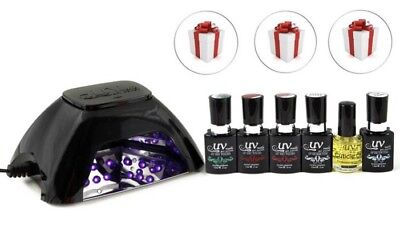 NEW Uv-nails LED Lamp Dryer and Gel Nail Polish-Set G-11 G-70 G-3