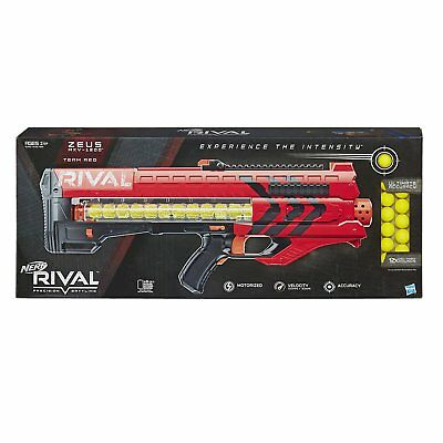 Nerf Rival Zeus MXV-1200 Blaster, Red, Box ware