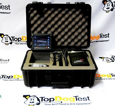 ODM TTK70 Fiber Inspection & Cleaning Kit VIS300 DLS355 Fiber Optic Test Inspec