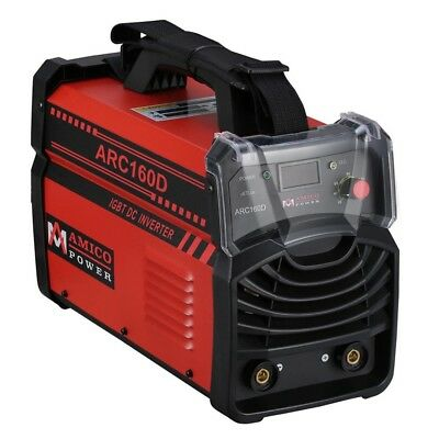 160 Amp Stick Arc DC Inverter Welder IGBT 115-Volt 230-Volt Dual Voltage Machine