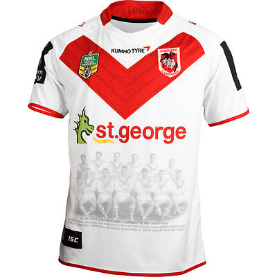 St George Illawarra Dragons NRL Heritage Jersey Sizes S-5XL! BNWT's!5