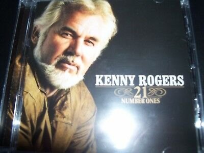 KENNY ROGERS 21 Number Ones – Very Best Of Greatest Hits (Australia) CD – New