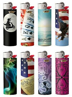 BIC Full Size Limited Special Edition Disposable Lighters Assorted Styles