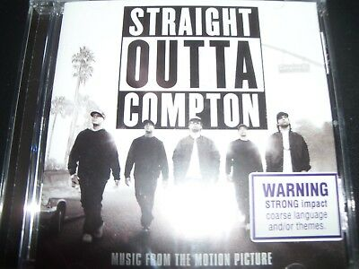 Straight Outta Compton Music From The Motion Picture Soundtrack (Aust) CD NEW