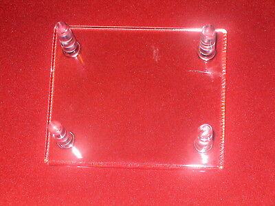 """1 Medium 4-1/4"""" Four (4) Peg Display Stand For Fossils Fossil"""