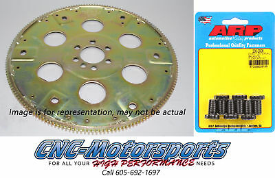 SB Chevy 350 SFI-Rated Flexplate 168 Tooth 87-99 Block Ext Balance W/ARP Bolts