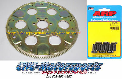 SB Chevy 350 SFI-Rated Flexplate 153 Teeth Ext Balance 87-99 Block W/ARP Bolts